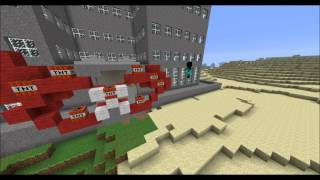 Minecraft Chrysler Building Grand Opening