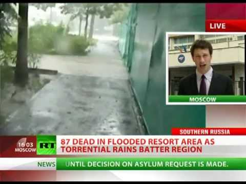 'Unimaginable' Chaos: Worst floods in decades hit Russia