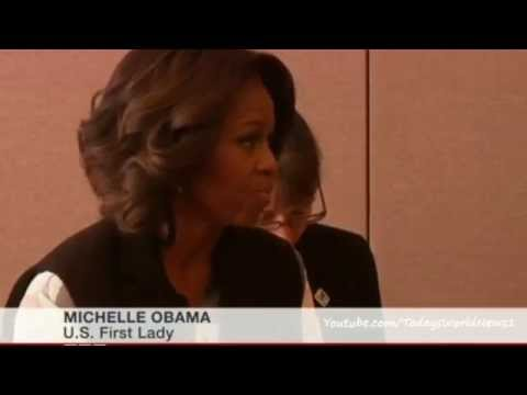 Michelle Obama meets Chinese President Xi Jinping