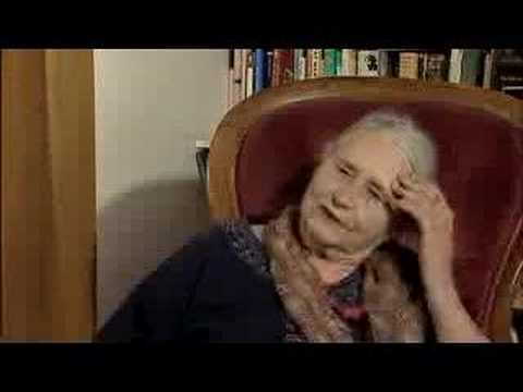 Doris Lessing talking about writing