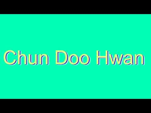 Expand your vocabulary and learn how to say new words: http://www.dictionaryvoice.com/How_To_Pronounce_Chun_Doo_Hwan.html Please leave a Like, a Comment, and Share. Bookmark us and share:...
