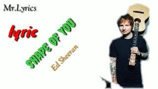 Shape of you | Ed Sheeran