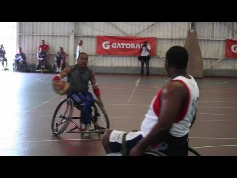 Wheelchair basketball players win for Nicaragua