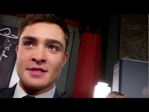Ed Westwick at the