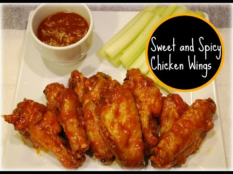 Sweet and Spicy Chicken Wings Recipe
