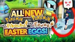 NEW Pokemon Let's Go, Pikachu! Let's Go, Eevee! Trailer: Easter Eggs, Things Missed and Breakdown