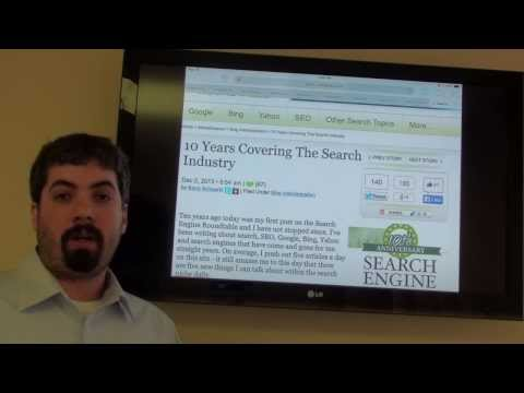 Google PageRank Update. Bing Ranking Update. SEO. PPC & 10th Anniversary