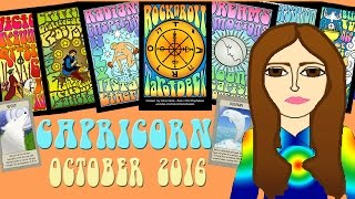 CAPRICORN OCTOBER  2016 Tarot psychic reading forecast predictions free