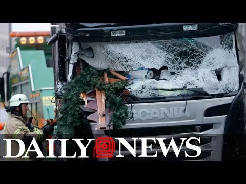 ISIS claims responsibility for Berlin truck crash as German police release suspect