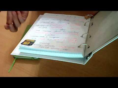 Ежедневник из тетради своими руками