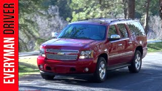 2013 Chevrolet Suburban LTZ  Review on Everyman Driver