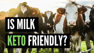 Can You Drink MILK  on Keto? (You May Be Surprised!) | KETO DIET