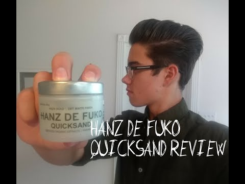 Hanz De Fuko Quicksand Review   Men's Hair Product Review 2017