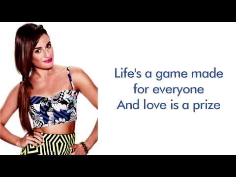 Glee - Wake Me Up (Lyrics)