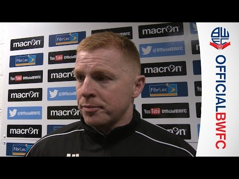 BOLTON v LIVERPOOL | Neil Lennon's post-match reaction