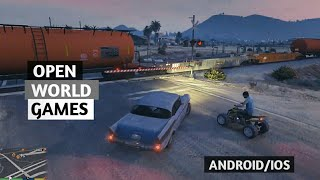 TOP 5 || HIGH GRAPHICS OPEN WORLD STORY BASED GAMES FOR MOBILE [ANDROID / IOS]