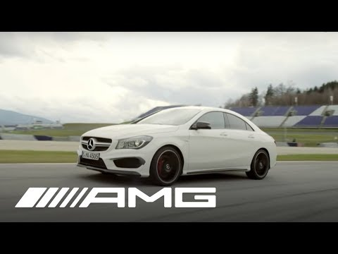 The New CLA 45 AMG Presented by Wolfgang Rother