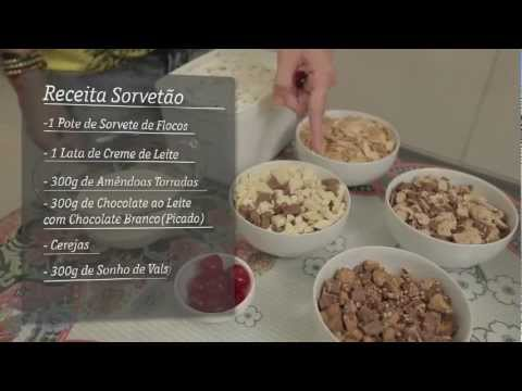 Receita Sorveto