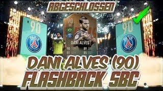 FIFA 19: TOTY FLASHBACK DANI ALVES (90) SBC abgeschlossen 😍🔥 Der BESTE RV mit TOTY STATS!
