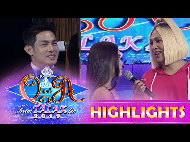 It's Showtime Miss Q and A: Kuya Escort Ion is not happy with Ate Girl Jackque's song