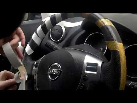 Обшивка руля автомобиля своими руками 44