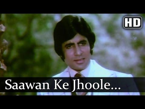 Sawan Ke Jhoole - Amitabh Bachchan - Raakhee - Jurmana- Bollywood...