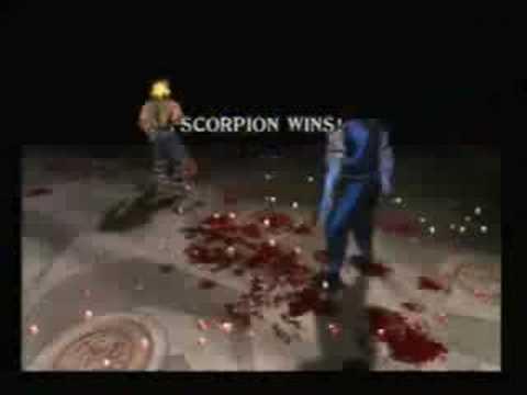 mortal kombat 9 scorpion fatalities. Mortal Kombat 2 On SEGA Mega.