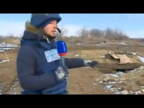 Abandoned bunkers and weapons technology APU Debaltseve 21.02.2015 Ukraine War,News Today!