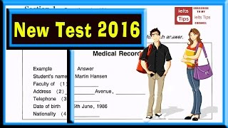 ielts listening practice test 2016 with answers International English Language Testing System