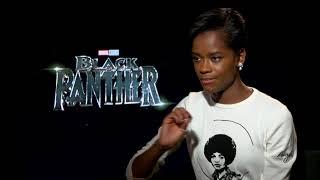 Black Panther's Letitia Wright talks Guyana and #BlackGirlMagic
