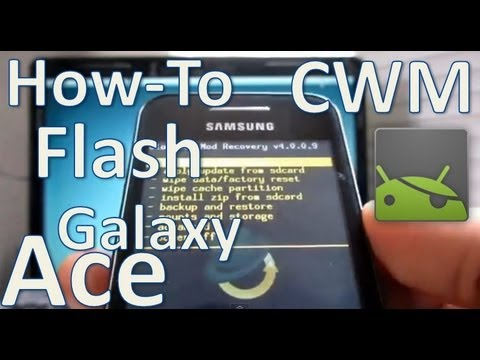 [How-To] Flashear Recovery CWM para Galaxy Ace S5830 (Español Mx)