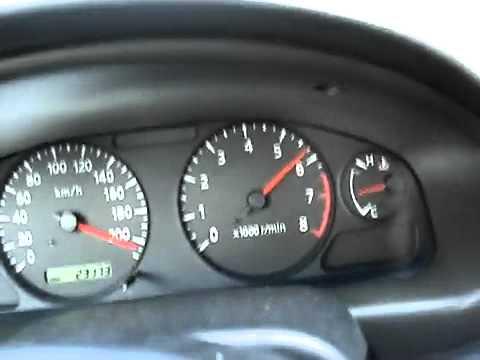 Nissan Sentra B15 Velocidad Maxima Flv Youtube
