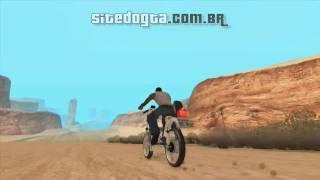 MOD Motocicleta Famel XF-17 para GTA San Andreas