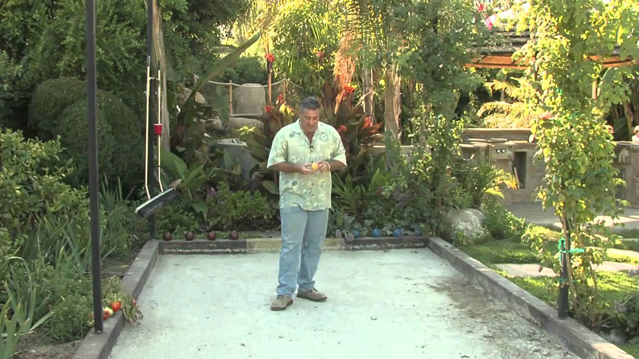 Bocce Ball Court Design & Game Rules - YouTube