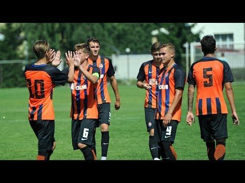 Shakhtar U19 7-0 Zirka U19. Highlights (18/08/2017)