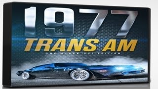 77 Pontiac Trans AM - DHC Black Out, Means Streets Edition, Darth Vader meets Smokey & the Bandit!!