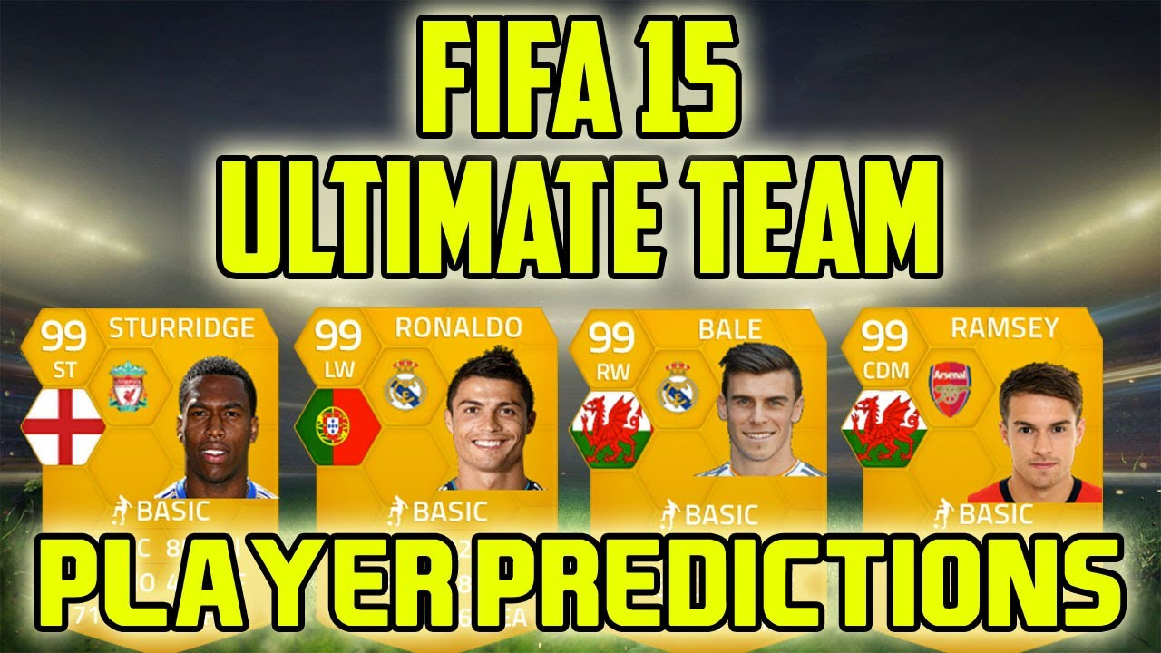 Fifa 15 ultimate team player predictions ronaldo bale ramsey