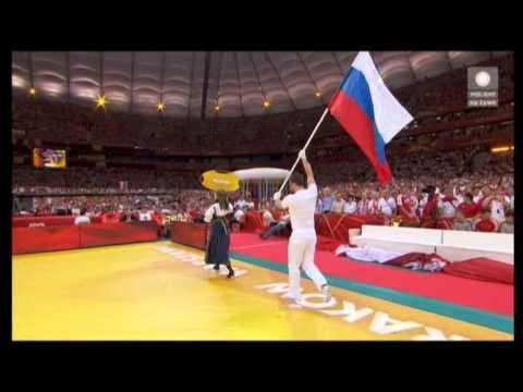 MŚ W Siatkówce - Przywitanie Reprezentacji Rosji