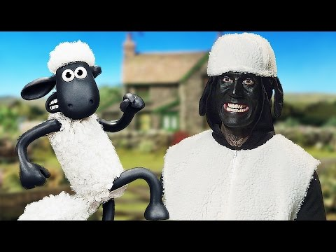 Funny Shaun The Sheep - The Movie Interview with Daniele Rizzo