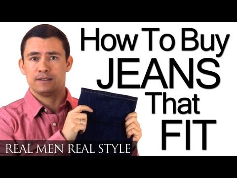 How To Buy Men's Jeans That Fit - Understanding Denim - Waist - Rise - Inseam - Style - Boot Cut