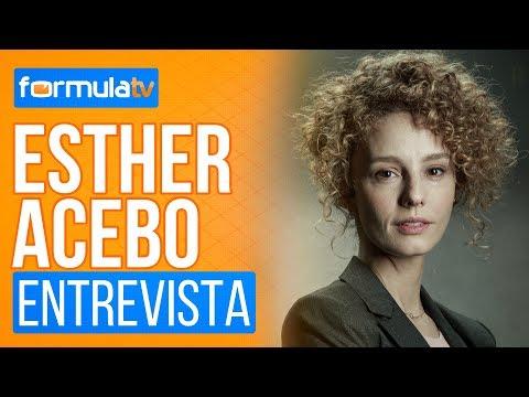 """Esther Acebo ('La casa de papel'): """"He tenido momentos de pánico máximo con ciertas secuencias"""""""