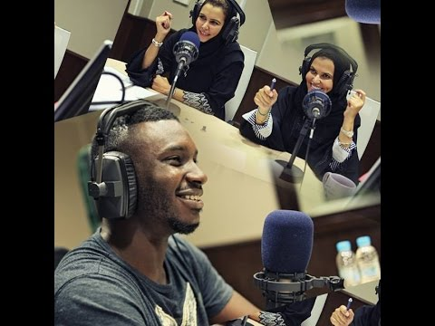 Ayzee Interview with Saudi Radio on the