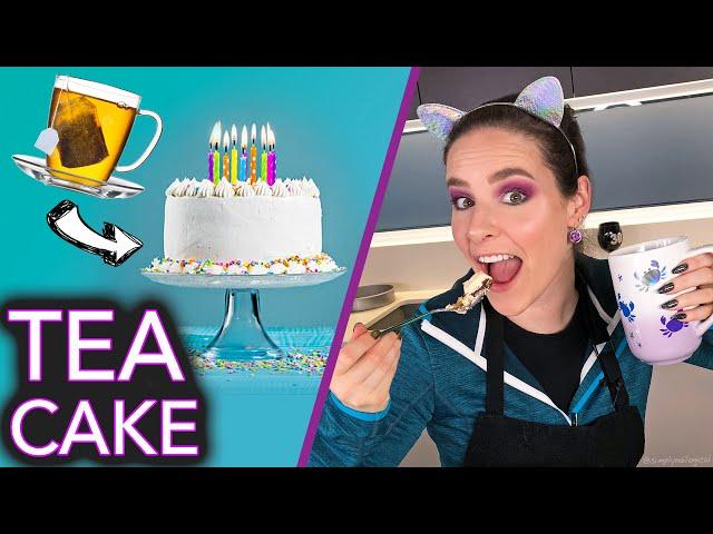 Baking a Cake with TEA (no nail polish) thumbnail