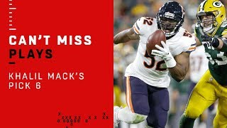 Khalil Mack's Pick 6: The New Monster of the Midway