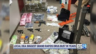 Local DEA: Biggest Grand Rapids drug bust in years