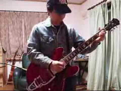 me playing bernard butler #01 not alone guitar full ver.