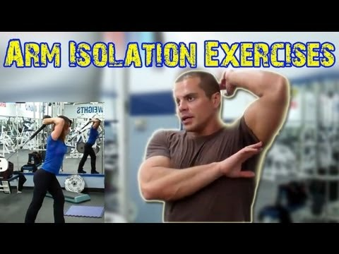 BICEP & TRICEP Isolation Exercises Image 1