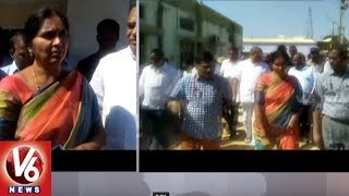 Deputy Speaker Padma Devender Reddy Inspects Development Works In Medak