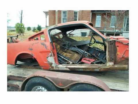 65 Mustang Fastback Restoration Project