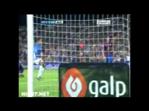 Barcelona vs Osasuna 8-0 All goals and highlights 9/17/2011